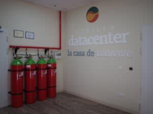 Sistema Incendios Sevilla Datacenter
